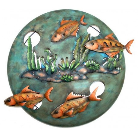 Four Fish Wall Decor
